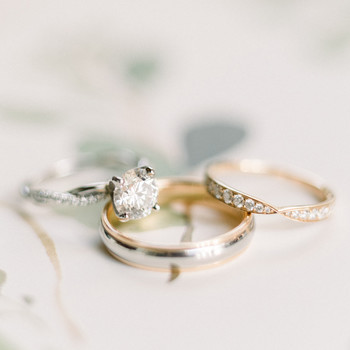 engagement rings twisted diamond set band