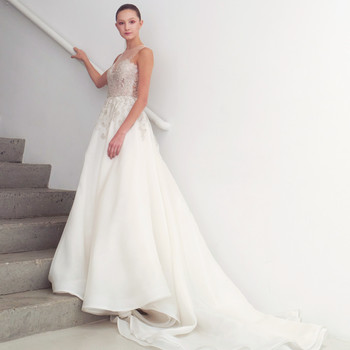 francesca miranda wedding dress spring 2019 illusion a-line