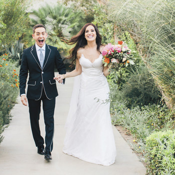 Jackie Seiden and Jason Winer's Palm Springs Wedding