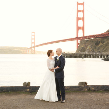 A Romantic Coastal Wedding with Vintage Touches in California