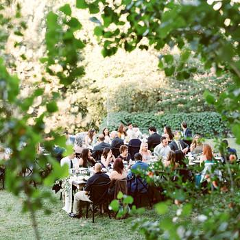 megan scott wedding outdoor reception