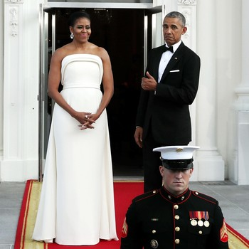 michelle obama white gown brandon maxwell