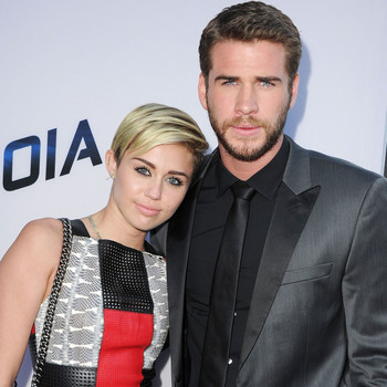 Miley Cyrus and Liam Hemsworth Make Their Official Debut as a Re-Engaged Couple