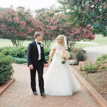 Molly and Patrick's Sweet North Carolina Church Wedding