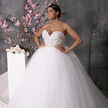christian siriano dress spring 2018 sweetheart ballgown