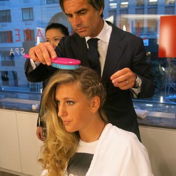 US Open hairstylist Julien Farel shares wedding hair tips