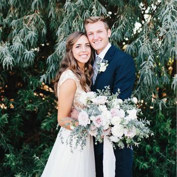 A Romantic Backyard Wedding in Salt Lake City