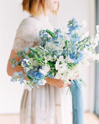 21 Ways to Use Delphinium in Your Wedding Bouquet