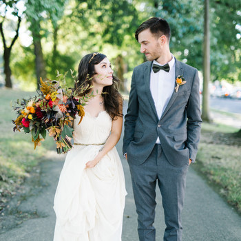 Marguerita and Aaron's Vintage-Inspired Wedding in Portland