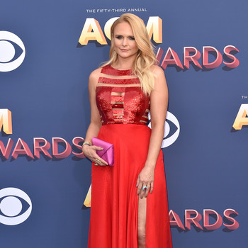 Miranda Lambert at the Academy of Country Music Awards