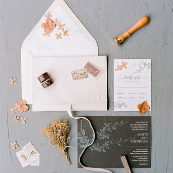 Winter Wedding Invitations Perfect for Your Cold-Weather Celebration