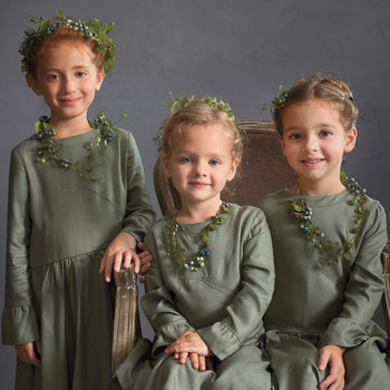 The Sweetest Long-Sleeve Dresses for Flower Girls