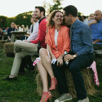 Gabriela and Tyson's Farm-Fresh Martha's Vineyard Rehearsal Dinner