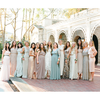 7 Rules for Shopping for Your Own Bridesmaid Dress