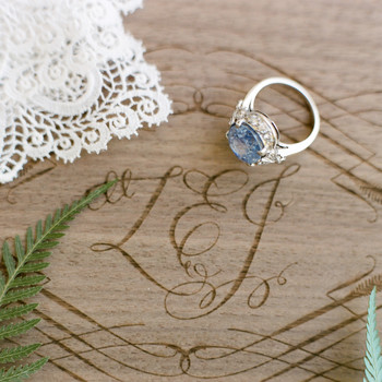 "35 Pieces of ""Something Blue"" Wedding Jewelry"