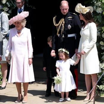 Princess Charlotte with Royal Family