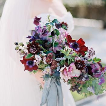 samantha michael wedding bouquet