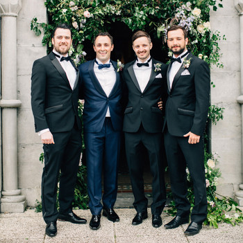 simone darren wedding ireland groomsmen