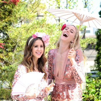 This Romantic Rooftop Bridal Shower Was Inspired by Marie Antoinette