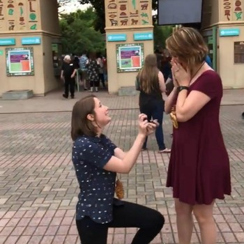 Becky McCabe and Jessa Gillaspie Proposal