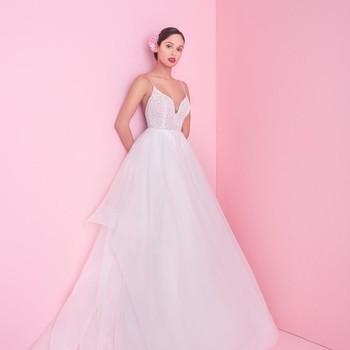 "blush by hayley paige ""perri"" wedding dress spring 2019"