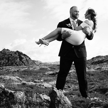 hafbor julius bjornsson and kelsey henson married