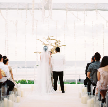 vivi yoga bali wedding ceremony couple