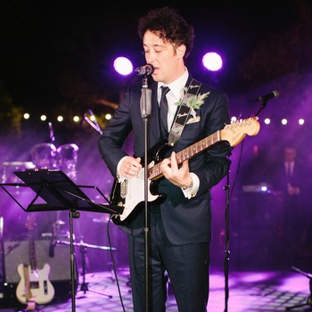 wedding groom guitar