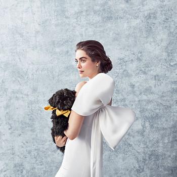 Carolina Herrera Fabienne Wedding Dress with Bow