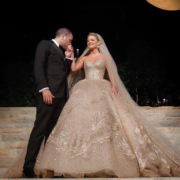 Elie Saab Jr. Wedding Photo