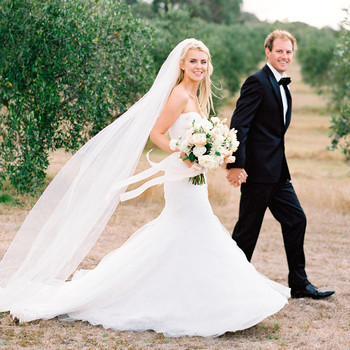 Jemma and Michael's Romantic Black-Tie Wedding in an Australian Olive Grove