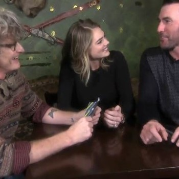 Kate Upton and Justin Verlander Getting Interviewed by E! News