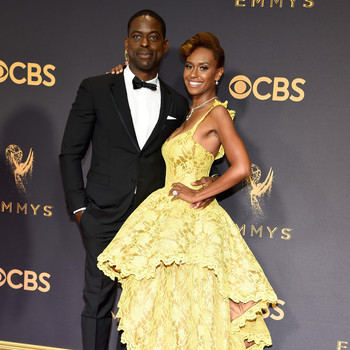 Sterling K. Brown and Ryan Michelle Bathe Emmys 2017