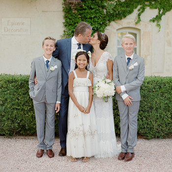 jannicke paal france wedding couple with kids
