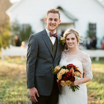 An Intimate Thanksgiving Wedding in Mississippi