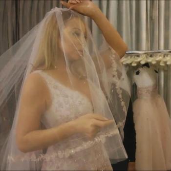 Mariah Carey Wedding Dress Shopping