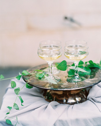 miya matthew wedding champagne coups