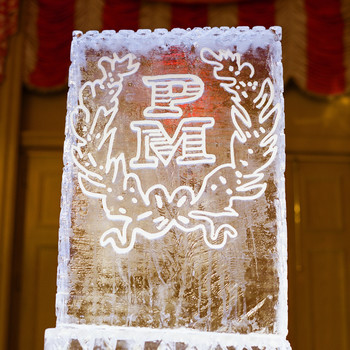 How to Make the Classic Wedding Ice Sculpture Feel New Again
