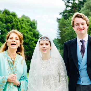 Raiyah bint Al-Hussein and Ned Donovan Wed