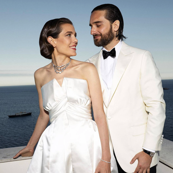 Charlotte Casiraghi Dimitri Rassam Wedding