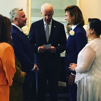 Joe Biden Officiates White House Staffer Wedding