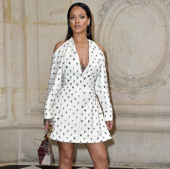 Rihanna at Dior SS17 Paris Fashion Week