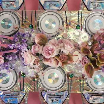 Take Your Seat: An Iridescent, '90s-Inspired Pink Tablescape