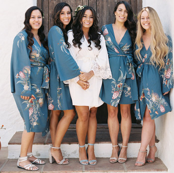 daphne jack wedding spain bridesmaids in robes