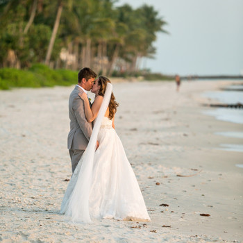 A Lemon-Inspired Beach Wedding in Naples, Florida