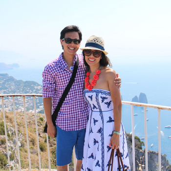 Courtney and Peter's Honeymoon Escapade Across Italy