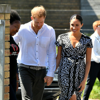 Prince Harry and Meghan Markle start royal Africa tour in Cape Town.