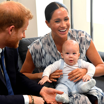 Archie Just Made His Adorable Debut on Prince Harry and Meghan Markle's Royal Tour