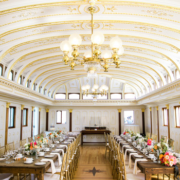 Ship to Shore: A Boat's Victorian Saloon Finds a New Home and Life As a Wedding Venue