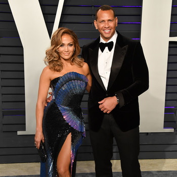 jennifer lopez alex rodriguez vanity fair oscar party 2019